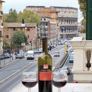 Rome Apartment Colosseum View