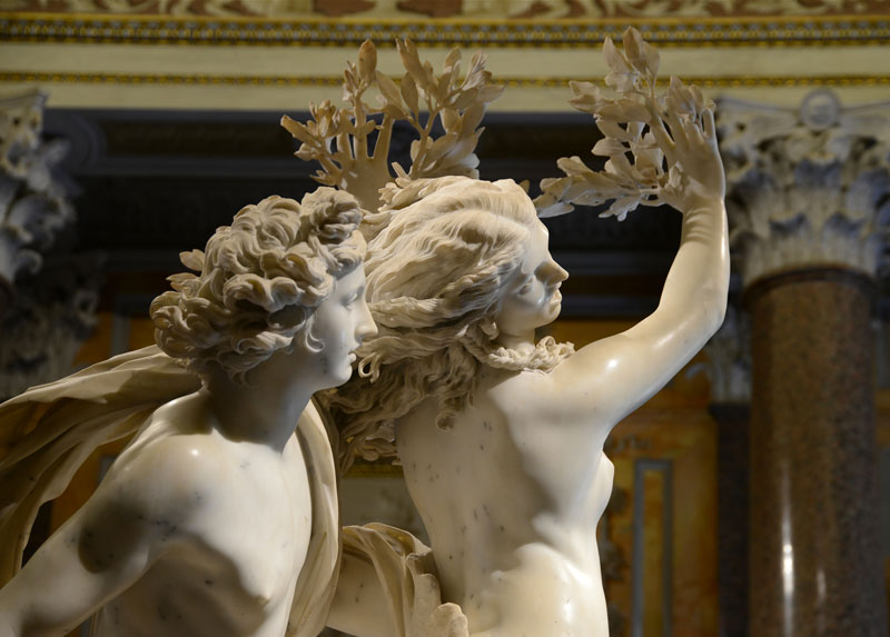 borghese gardens and gallery tour apollo daphne bernini