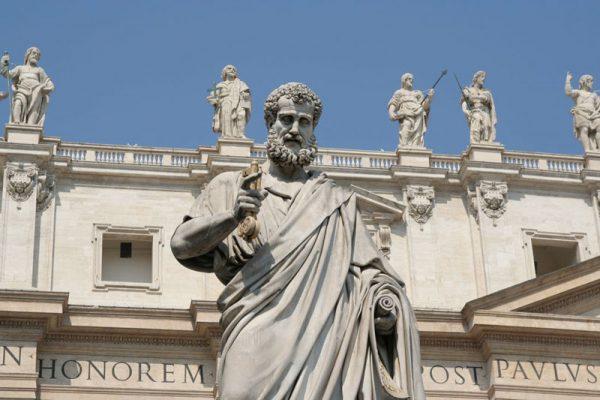 statues vatican