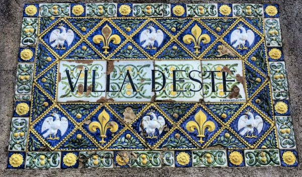TIVOLI VILLA DESTE GUIDED GROUP TOUR