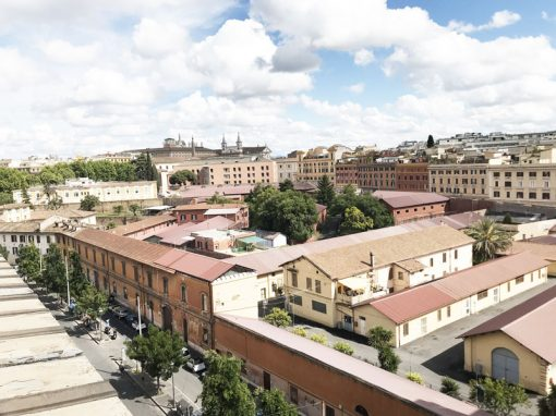 rome apartment panoramic view